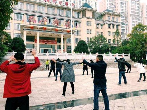 宣威市西宁街道:工间操跳起来 精气