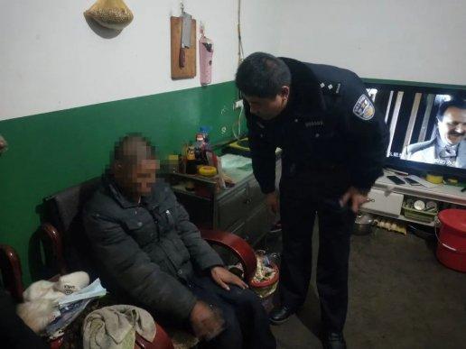 宣威一患病老人走失,民警助力找到