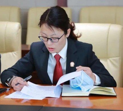 扫黑除恶法院人︳夏晓鹂:做足做实