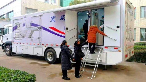 宣威首台车载CT落户市第二人民医院