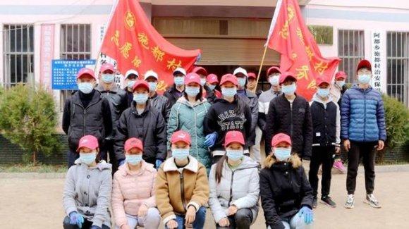 宣威阿都:大学生志愿服务队为爱卫