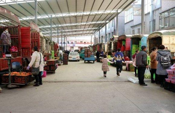 宣威:水果市场年味浓
