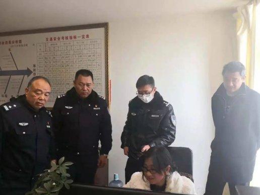省公安厅交警总队督导组到宣威督导