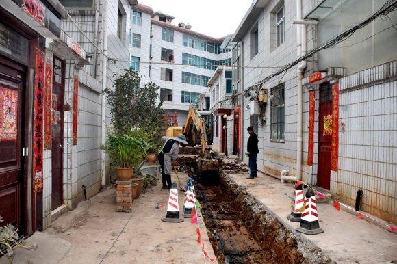 宣威市扎实推进老旧小区改造