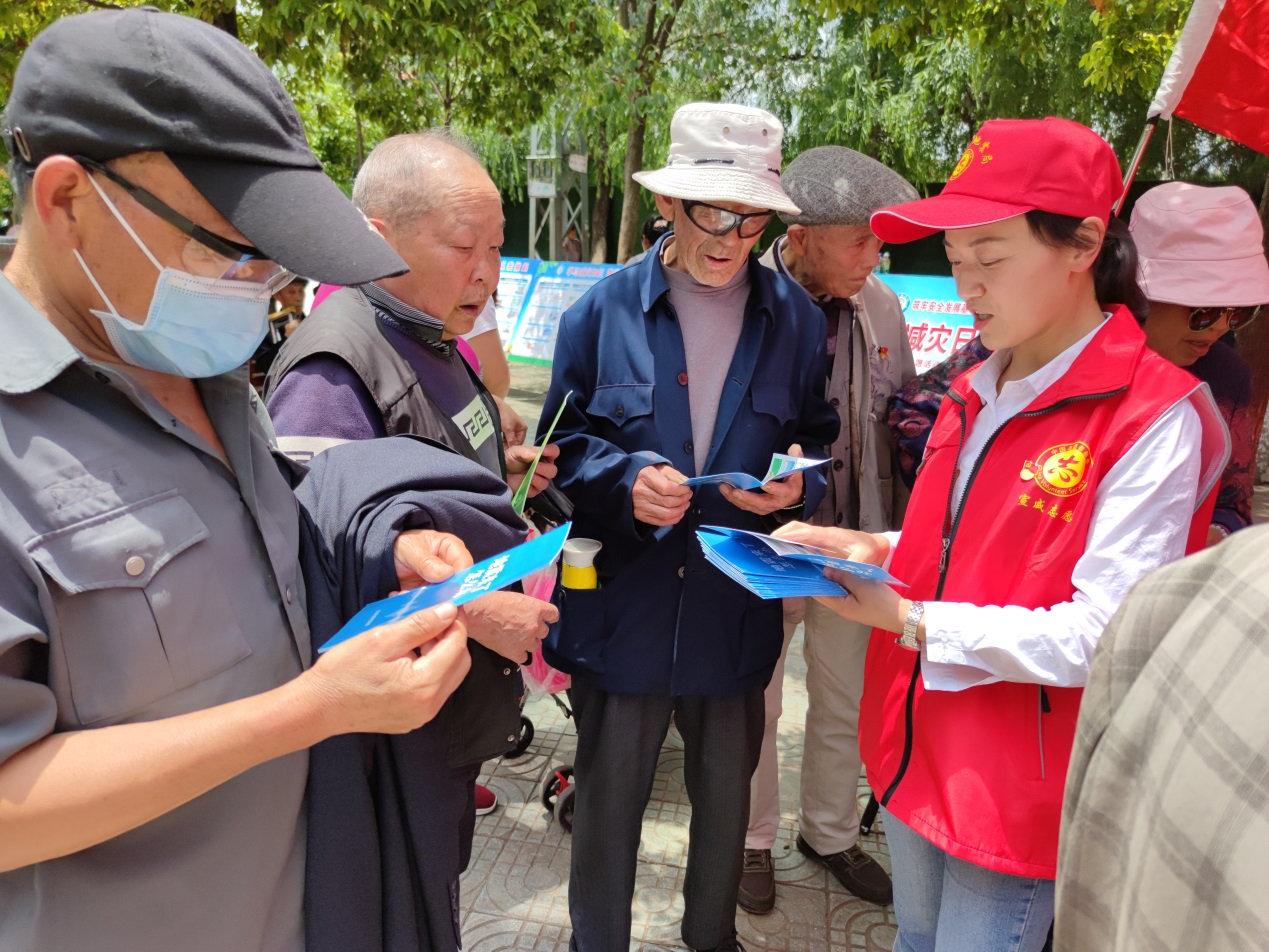 """宣威市地震局开展""""5·12""""全国防灾减灾宣传活动"""