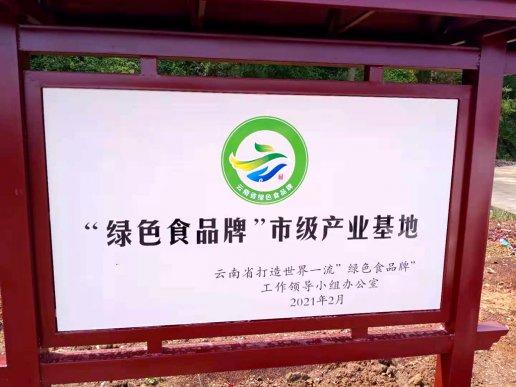 """宣威宝山食用玫瑰花获曲靖市级""""绿色食品牌""""认定"""