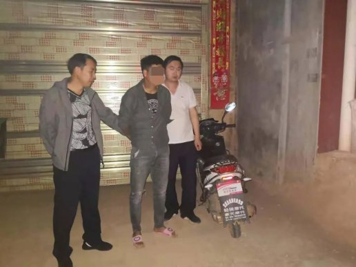 宣威俩男子偷变压器被抓了