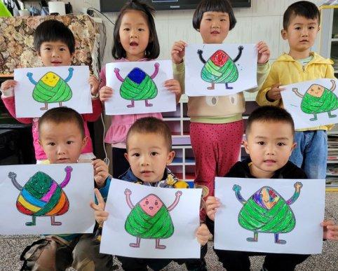 得禄乡中心幼儿园开展端午节系列活动