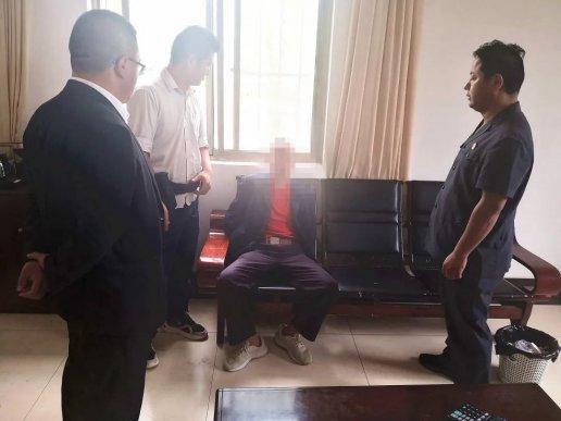 宣威一男子因扰乱法庭秩序被拘留
