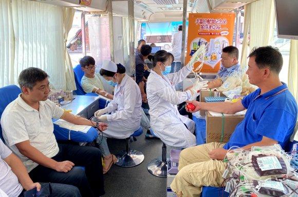 宣威阿都乡:无偿献血党员先行 200余