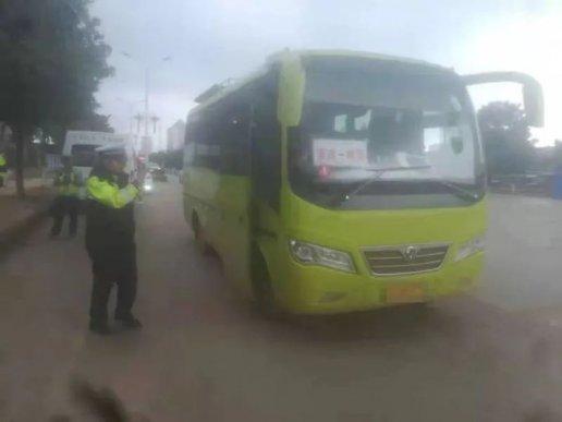 宣威公安交警查获一起客运车辆非法