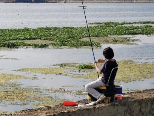 钓鱼新高度,在宣威出现了